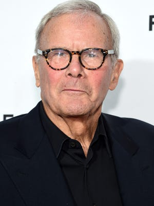 Tom Brokaw at a premiere on April 15 in New York.