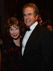 Shirley MacLaine and Warren Beatty  in 2012.