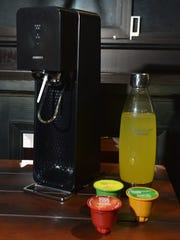 SodaStream adds carbonation and flavor to water