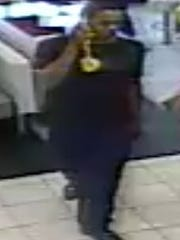 Police are looking for this man who stole a handgun