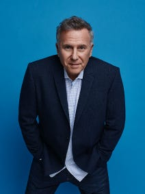 Comedian and actor Paul Reiser headlines the Tarrytown Music Hall, 8 p.m. Feb. 7.