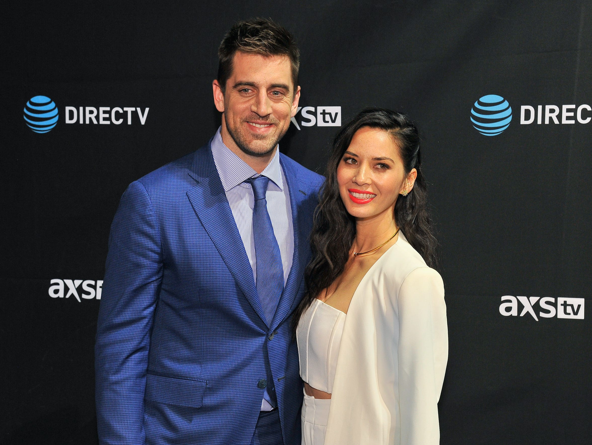 Aaron Rodgers and Olivia Munn are an item no more.
