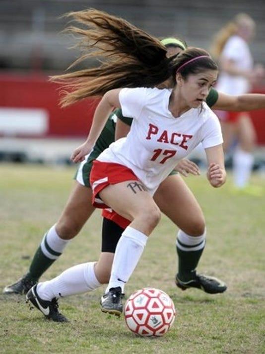 Pace girls soccer file