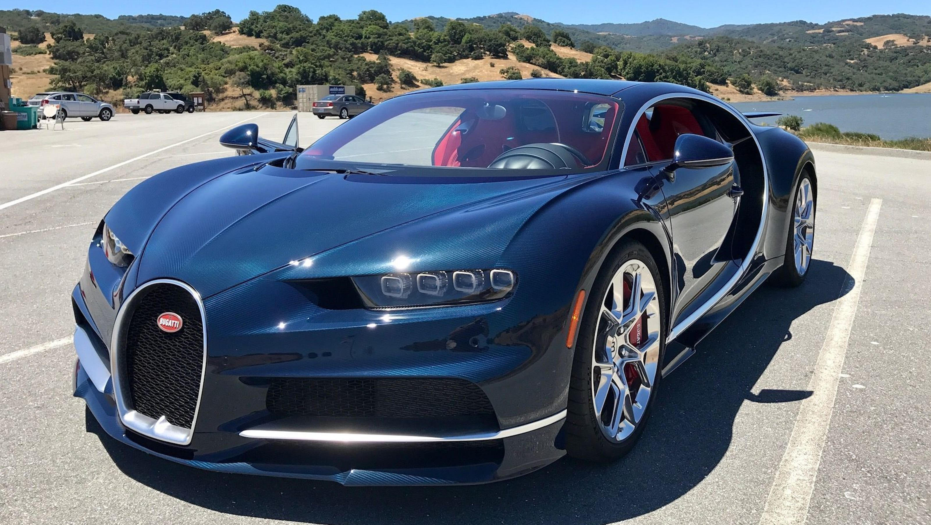 review: bugatti's chiron supercar is $3m of 'hold on!'