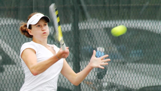 Marie Matrka won her sixth Thomas E. Price Met women's tennis singles tournament July 19, 2014, defeating second-seeded Amina Ismail in three sets.