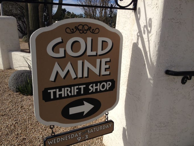 Gold Mine Thrift Shop has operating for 67 years in