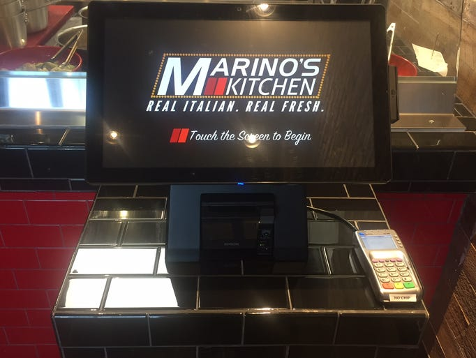 Marino's Kitchen allows customers to order quickly