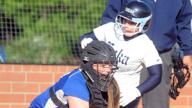 Enka's Marrah Troutman and the Sugar Jets will be at home Friday night.