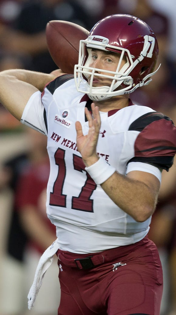 New Mexico State's Tyler Rogers