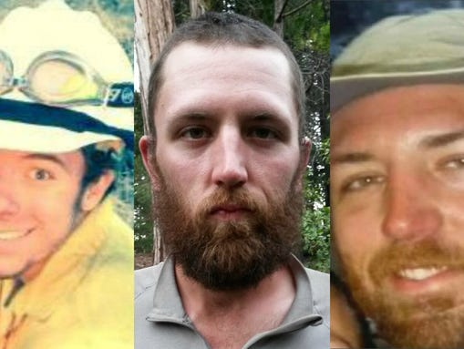 Three firefighters were killed Wednesday battling wildfires
