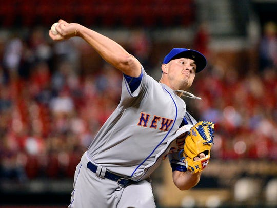 Mets relief pitcher Addison Reed.
