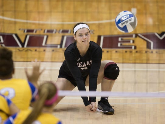 Emily Butters has been a steady force at libero at Missouri State.