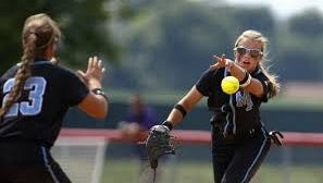 The Mercy softball team is ranked No. 4 in the state.