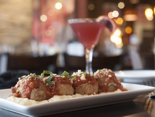 Short rib-stuffed meatballs are a favorite at Catelli