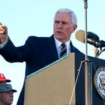 Pastor denounces Trump's remarks with Pence at church
