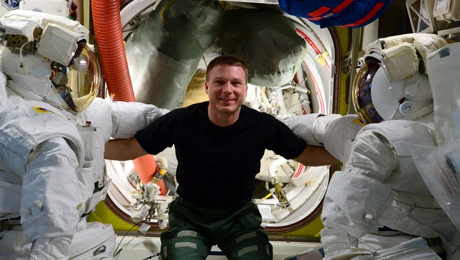 NASA astronaut and National Geographic author Terry Virts will share photos and stories from his career at 8 p.m. Feb. 2 at the Fred Kavli Theatre in Thousand Oaks.