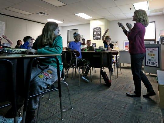 Sixth grade accelerated Language Arts teacher Nikki
