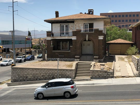 "This vacant, dilapidated house at 1701 N. Stanton St. in West Central El Paso was sold at a bankruptcy court auction July 24, 2018, for $235,000. It was sold in William ""Billy"" Abraham's bankruptcy cases."