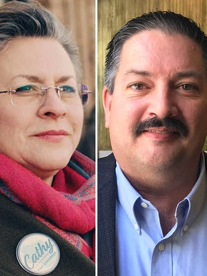 Cathy Myers and Randy Bryce.