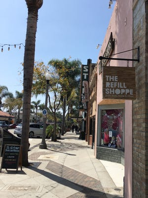 Main Street in downtown Ventura.