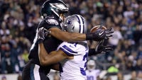 Ezekiel Elliott had 151 yards rushing and his go-ahead 1-yard touchdown run in the fourth quarter helped the Dallas Cowboys beat the Philadelphia Eagles 27-20