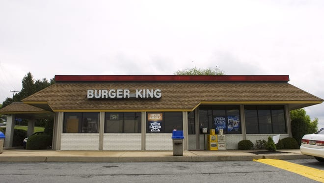 This Burger King is on Route 30 at Pennsylvania Avenue. Two new Burger Kings will open in York County later in 2016.