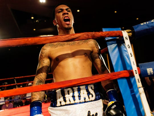 Luis Arias will be fighting Daniel Jacobs on HBO in