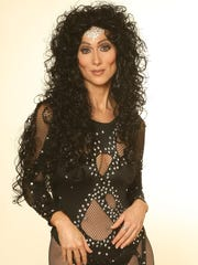 Lisa Irion of Lafayette performs her renowned Cher