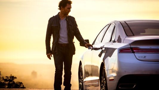 Actor Matthew McConaughey will appear in two more TV ads for Lincoln that will start airing on New Year's Day.