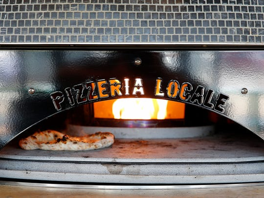 The pizza oven at Pizzeria Locale