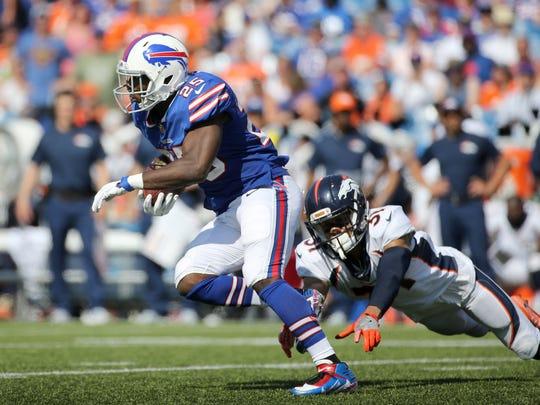 Bills running back LeSean McCoy looks for running room