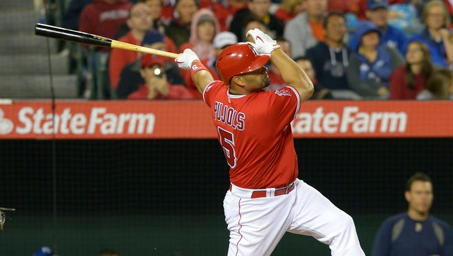 Albert Pujols has signed two nine-figured contracts.