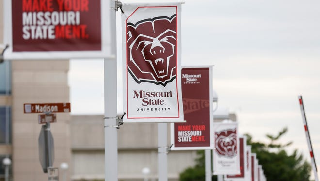 A file photo on the Missouri State University campus.