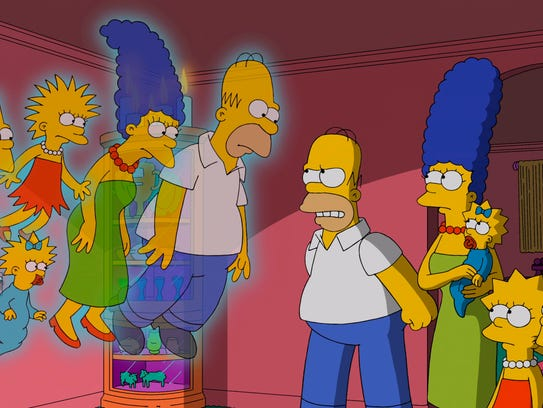 Yes, 'The Simpsons' have changed appearance over three