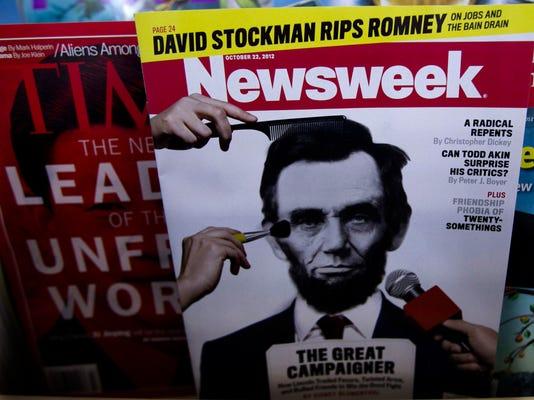 Newsstand toned