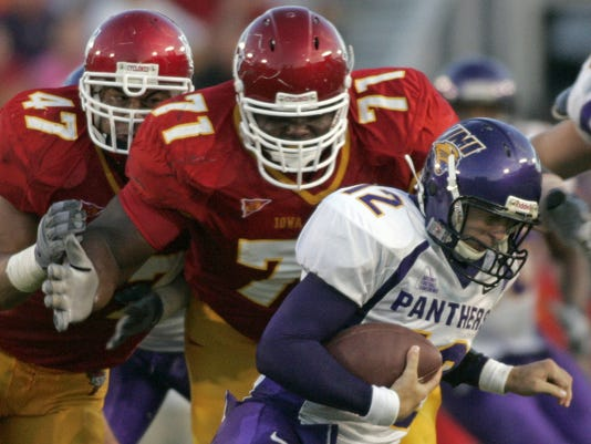 ISU UNI FOOTBALL FOR ARCHIVE