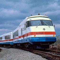 Photos: Amtrak's passenger trains through the years