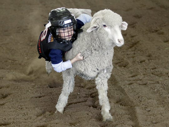 Kids can try mutton busting at the Arizona Get Outdoors Expo.