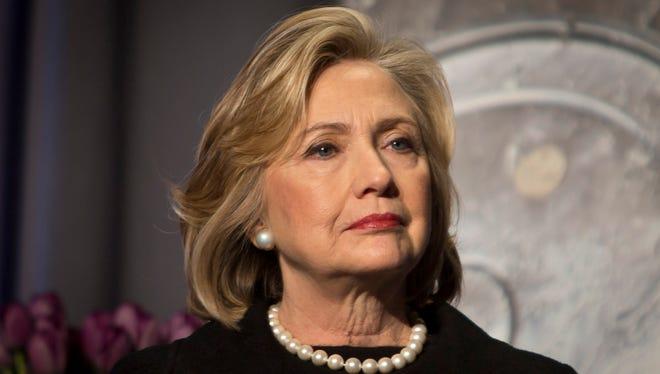 Hillary Clinton is the Democrats' presumptive presidential nominee.