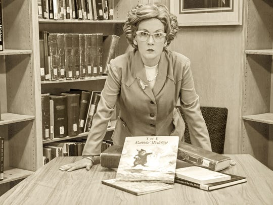 Melissa Beckwith plays Alabama librarian Emily Wheelock