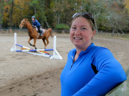 Caitlynn Tobin, who owns The Equestrian Experience,