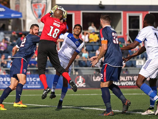 The Indy Eleven play their home opener at IUPUI's Michael A. Carroll Stadium on April 1.