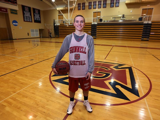 Grinnell College point guard Jack Taylor scored an