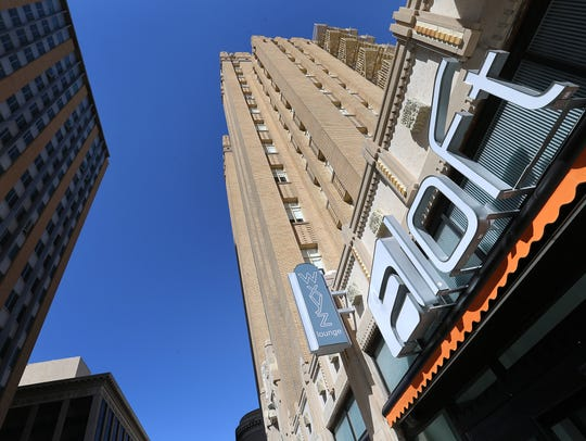 The Aloft Hotel in Downtown El Paso is in the newly