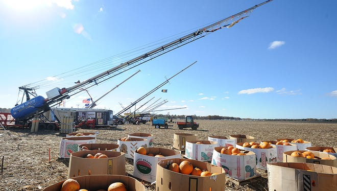 Punkin Chunkin will take place at Dover International Speedway this year, but organizers are still searching for a property that can accommodate the air cannon competition in future years.