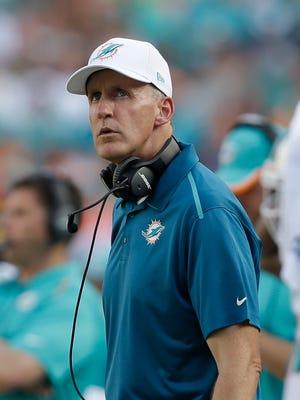 Miami Dolphins head coach Joe Philbin.