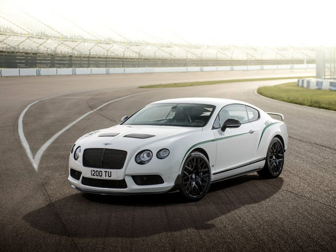 Since Bentley Motors Limited was founded in 1919, the design of the Bentley has been as much about emotion as mechanics. The Bentley Continental GT3-R pictured was inspired by the Continental GT3 racer. Only 300 will be built, and only 99 of those will be headed for the U.S.