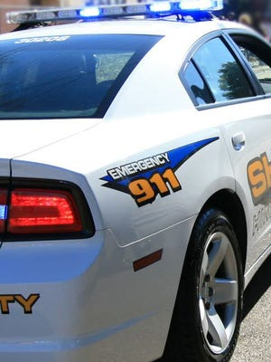 A Hinds County Sheriff's Dept. vehicle is shown in this 2015 photo.