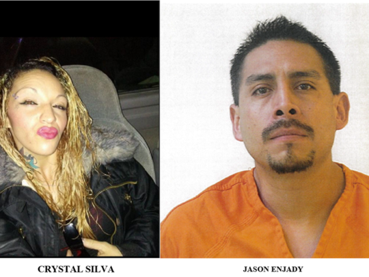 Police are still looking for Silva and Enjady. Anyone with information regarding the whereabouts of Silva or Enjady are asked to call the Alamogordo Police Department or Crime Stoppers at 434-7812.