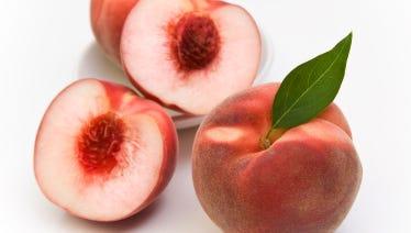 White peaches.
